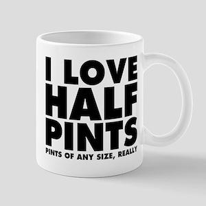 I Love Half Pints Mug