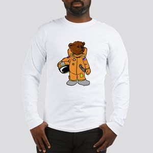 Buzz the Astronaut Bear Long Sleeve T-Shirt