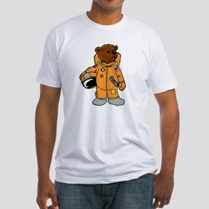Buzz the Astronaut Bear Fitted T-Shirt