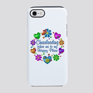 Cheerleading My Happy Place iPhone 7 Tough Case