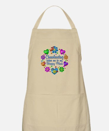 Cheerleading My Happy Place Light Apron