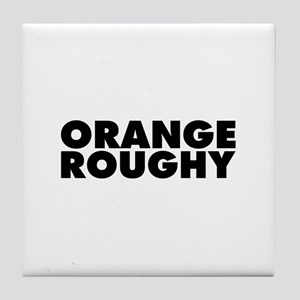 Orange Roughy Tile Coaster