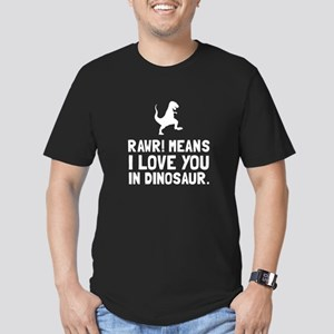 Rawr Love Dinosaur T-Shirt