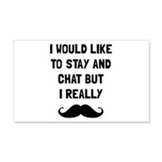 Really Moustache Wall Decal