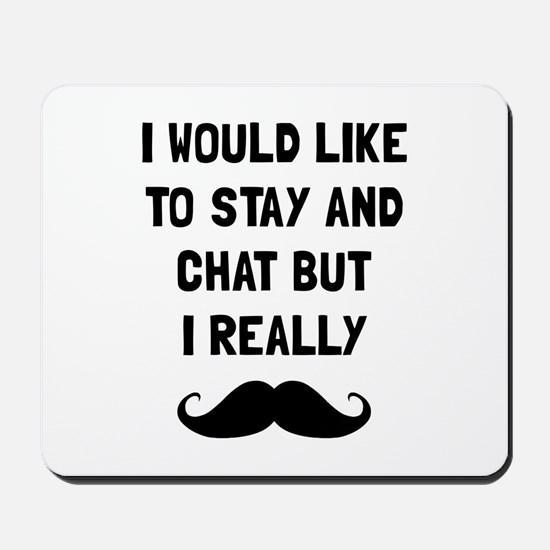 Really Moustache Mousepad