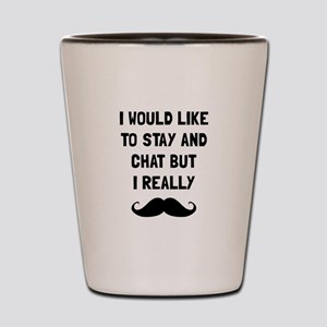 Really Moustache Shot Glass