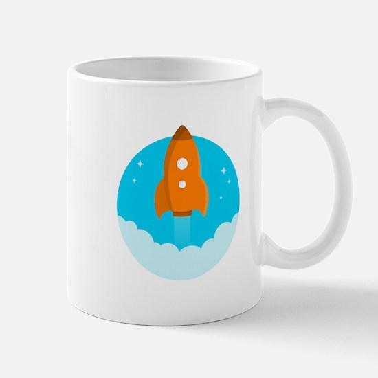 Round Rocket Mugs