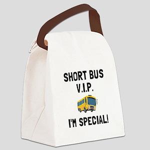 Short Bus VIP Canvas Lunch Bag