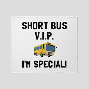 Short Bus VIP Throw Blanket