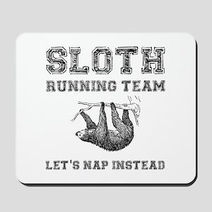 Sloth Running Team Mousepad