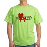 Baby Pin with Hearts T-Shirt