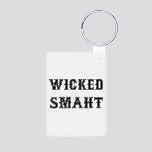 Wicked Smaht Keychains