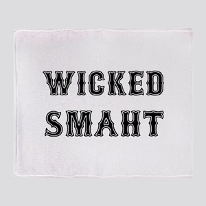 Wicked Smaht Throw Blanket
