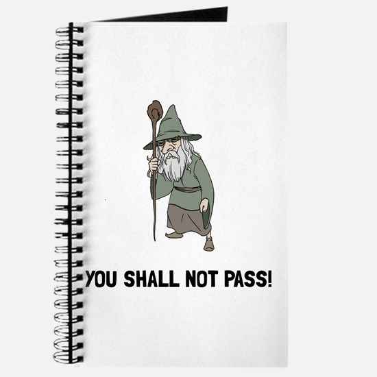 Wizard Shall Not Pass Journal