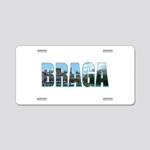 Braga Aluminum License Plate