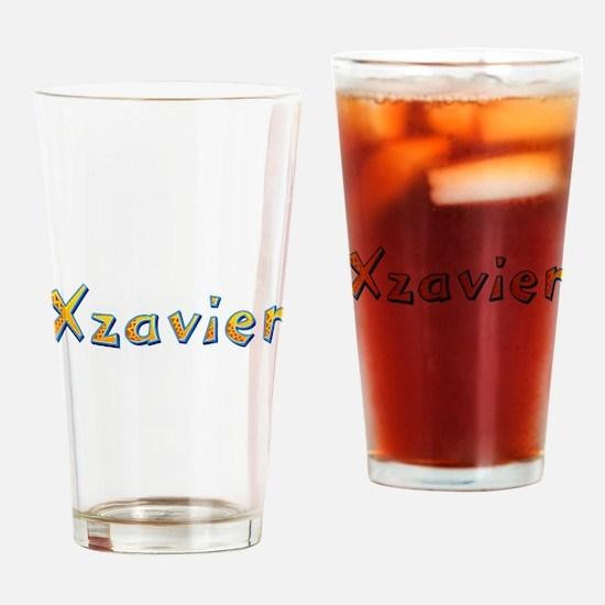 Xzavier Giraffe Drinking Glass