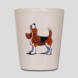 Tricolor Beagle Bay Shot Glass