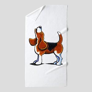 Tricolor Beagle Bay Beach Towel