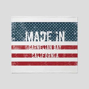 Made in Carnelian Bay, California Throw Blanket