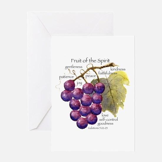 Fruit of the Spirit Design Greeting Cards