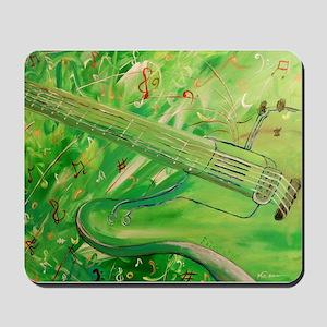 Modern Musical Abstract Mousepad