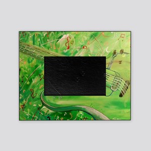 Modern Musical Abstract Picture Frame