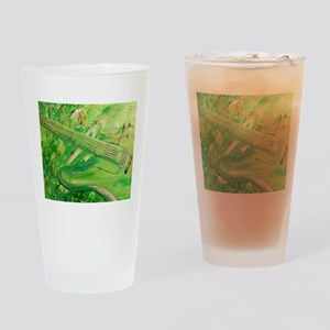Modern Musical Abstract Drinking Glass