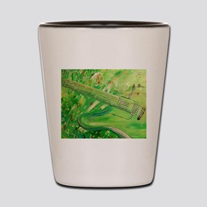 Modern Musical Abstract Shot Glass