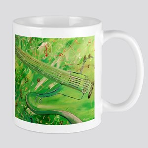 Modern Musical Abstract Mugs