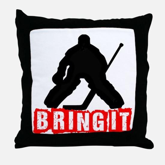 Bring It Throw Pillow