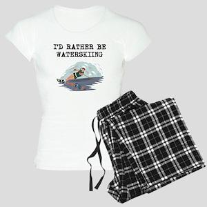 Id Rather Be Waterskiing Pajamas