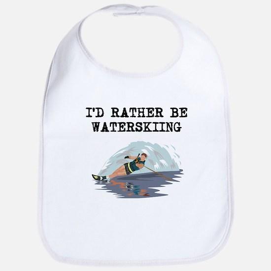 Id Rather Be Waterskiing Bib