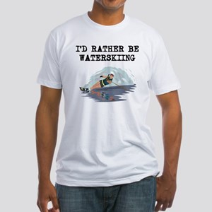 Id Rather Be Waterskiing T-Shirt