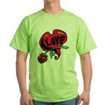 Love Heart with Rose T-Shirt
