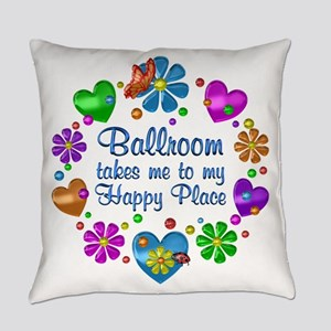 Ballroom My Happy Place Everyday Pillow