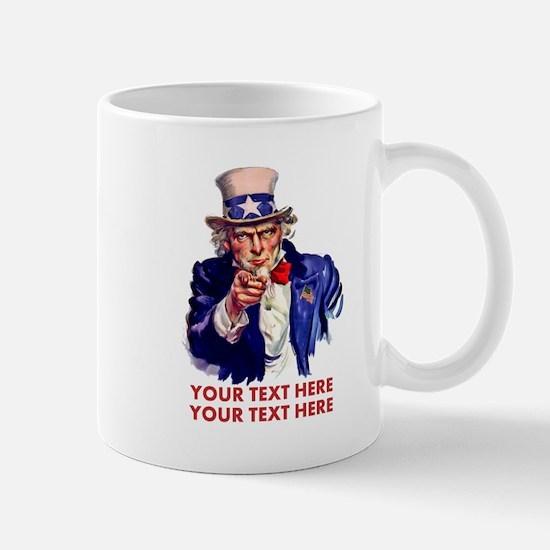 Personalize Uncle Sam Mugs