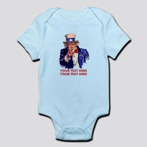 Personalize Uncle Sam Body Suit
