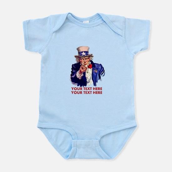 Personalize Uncle Sam Body Suit