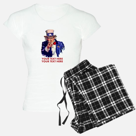 Personalize Uncle Sam Pajamas