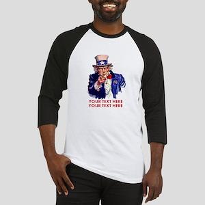 Personalize Uncle Sam Baseball Jersey