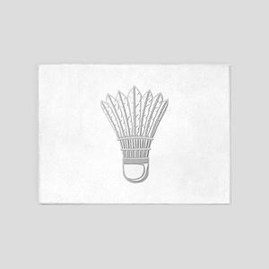 Badminton - No Txt 5'x7'Area Rug