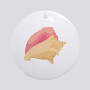 Conch Shell Ornament (Round)