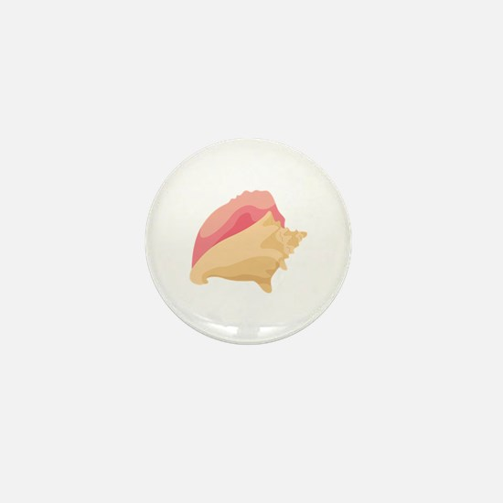 Conch Shell Mini Button