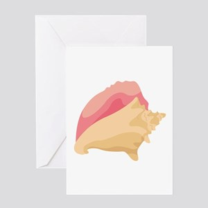 Conch Shell Greeting Cards