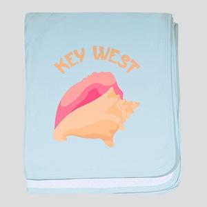 Key West baby blanket