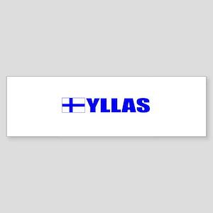 Yllas, Finland Bumper Sticker