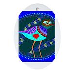 killdeer Oval Ornament