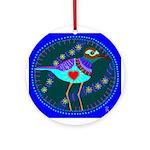 killdeer Ornament (Round)