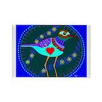 killdeer Rectangle Magnet (100 pack)