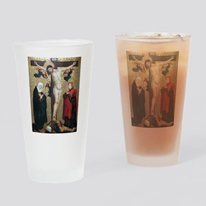 Crucifixion Drinking Glass